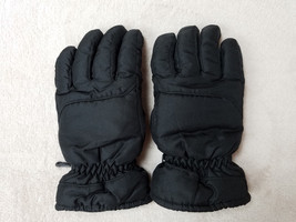 Youth Black Thermosoft Gloves Size L/XL Insulation Faded Glory Ski Water... - $191,80 MXN