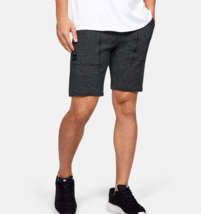Under Armour Mens UA Speckle Terry Shorts 1347284-001   Black NWT - $35.56