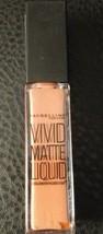 Maybelline Color Sensational Vivid Matte Liquid Lip Color #10 NUDE FLUSH - $3.00