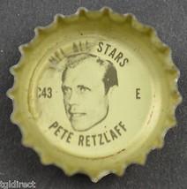 Coca Cola NFL All Stars King Size Bottle Cap Philadelphia Eagles Pete Retzlaff - $6.99