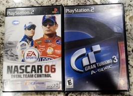 NASCAR 06: Total Team Control And Gran Turismo 3 A-spec (Sony PlayStatio... - $11.88