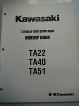 Kawasaki engines 2-stroke air-cooled gasoline workshop manual TA22 TA40 TA51 New - $9.02
