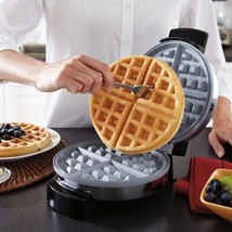 Belgian Waffle Maker Non-Stick 4X More Durable Adjustable temperature co... - $38.93 CAD