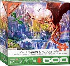 EuroGraphics (EURHR Dragon Kingdom 500Piece Puzzle 500Piece Jigsaw Puzzle - $10.71