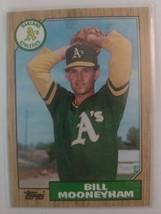 TOPPS 1987 CARD#548 BILL MOONEYHAM - $0.99