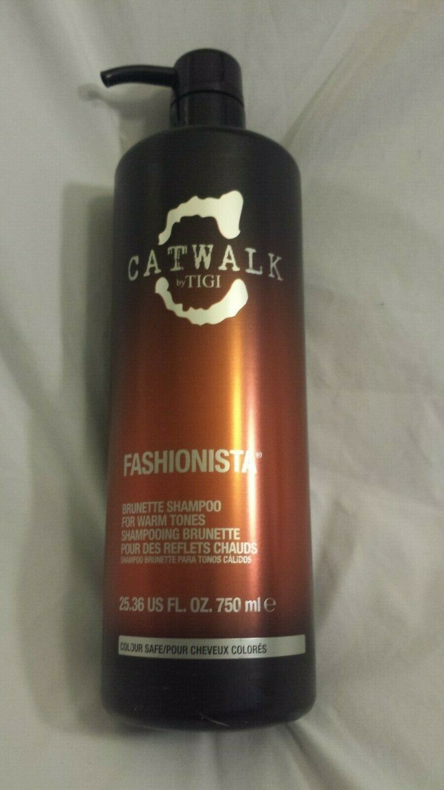 Catwalk by TIGI Fashionista Brunette Shampoo for Warm Tones 25.36 FL OZ