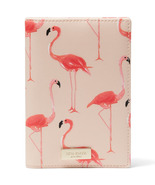 Kate Spade wlru2951 Shore Street Flamingo Print Passport Holder  - $49.00