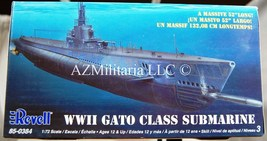 Revell 1:72 Scale Revell WW II Gato Class Submarine Kit No. 85-0384 - $139.99
