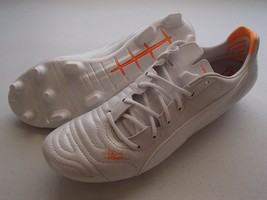 PUMA evoPOWER 1.2 Leather FG Firm Ground Soccer Cleats, White, 11.5 - $59.95