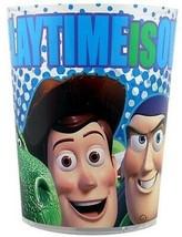 Disney Toy Story Wastebasket Woody Buzz & Friends Trash Can Basket Kids ... - $13.88