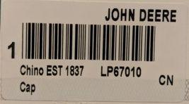 John Deere LP67010 Green Adjustable Baseball Cap With Leaping Deer Logo image 9