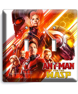 ANT MAN AND THE WASP NANO SUPERHERO 2 GANG LIGHT SWITCH WALL PLATE ROOM ... - $11.69