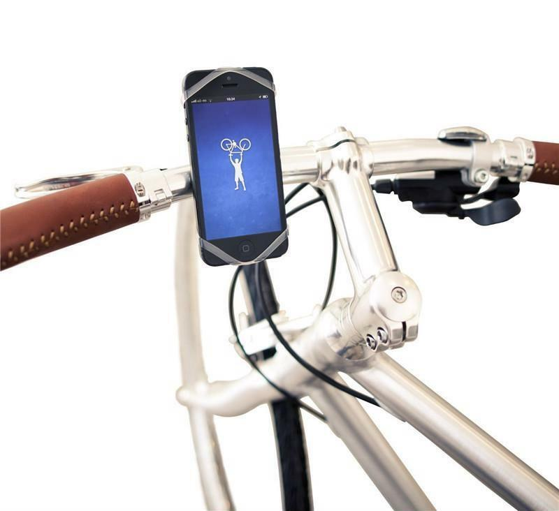 Universal Silicon Smartphone Bike Mount Phone Holder for iPhone Xiaomi Ninebot