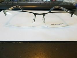 Emporio Armani Eyeglasses Frame EA 1028 3009 53-18-140 Gunmetal/Havana brand new - $51.48