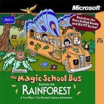 Magic School Bus Explores The Rainforest  (PC, 1998) NEW - FREE SHIPPING - $7.69
