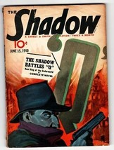 Shadow 1940 June 15 Street And Smith Pulp Magazine - $181.88