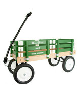 GREEN BERLIN FLYER CLASSIC Wooden No Tip WAGON -  MADE in the USA - $225.37