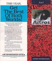 1991 Houston Astros information flyer - $2.48