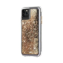 Case-Mate - Waterfall Case for Apple® iPhone® 11 Pro - Gold Waterfall - $11.04