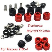 4PCS RC car parts 6/8/9/10/11/12mm Hex Wheel Hubs For Traxxas TRX-4 TRX4 1:10 RC - $15.77