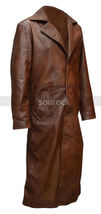Batman V Superman Coat Dawn of Justice Nightmare Brown Leather Trench Coat image 3
