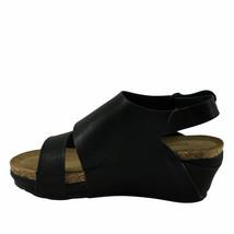 Pierre Dumas CHANTAL-6 Black Women's Platform Wedge Sandals - $38.95