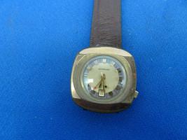 Vintage 1977 Wittnauer Date AC11 Alarm Watch Runs Restoration Of Stem Crown - $395.00