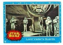 Star Wars card #32 1977 Topps Lord Vaders Guards Stormtroopers - $4.00