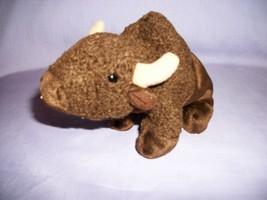 TY Beanie Babies Roam The Brown Buffalo With Tush Tag Only 1998 - $2.48