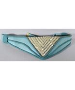 "Vintage 30"" Retro Carolyn Tanner Designers Hand Made Belt Disco Pattern - $18.99"