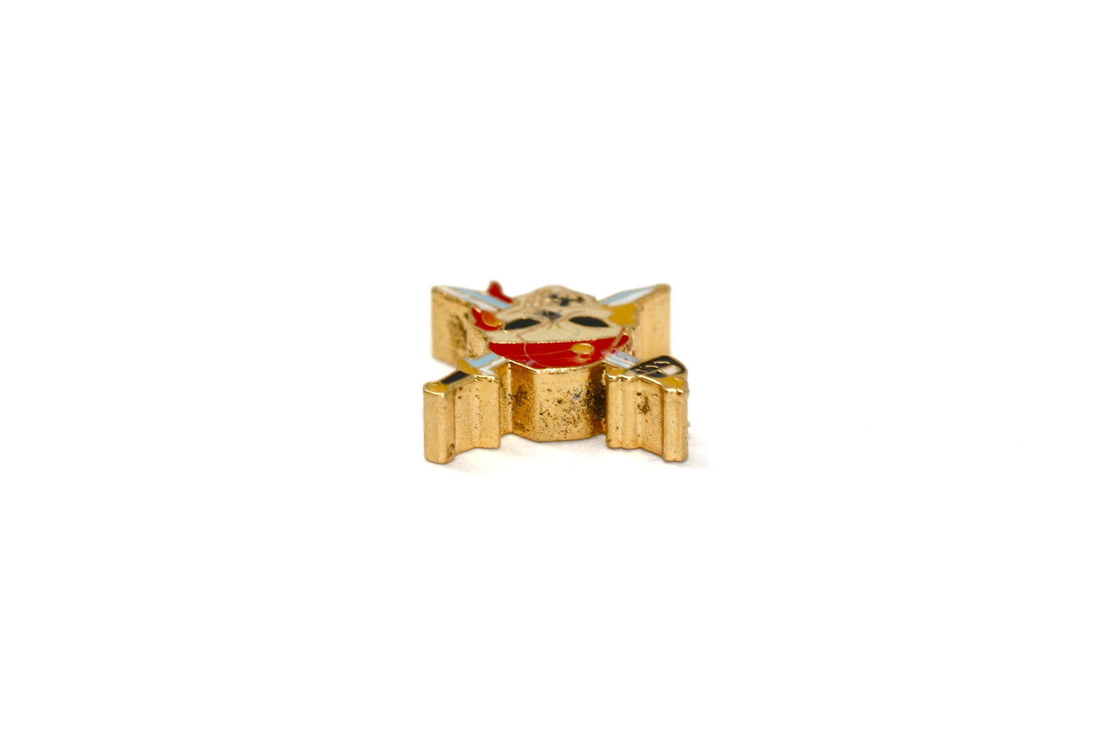 BRACCIALE DISNEY PIRATE GOLD STAINLESS STEEL GOLD PLATED CHARM