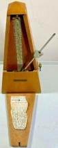 Vintage Pyramid Metronome by Seth Thomas E873-008  #10 1102 works Perfect! - $24.74