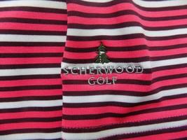 Under Armour Heat Gear Scherwood Golf Polo Shirt Men Loose Fit Pink Large L Nice - $18.46