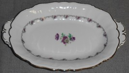 Rorstrand FLORAL PATTERN Relish Tray MADE IN SWEDEN - $19.79
