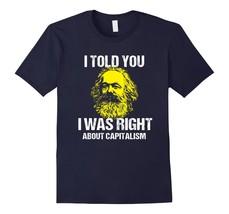 Funny Shirts - Funny Anti-Capitalism Karl Marx Tshirt Socialism Marxism Men - $19.95+