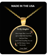 TO MY DAUGHTER Necklace - Birthday Present For Daughter - Gifts For Daug... - $19.95