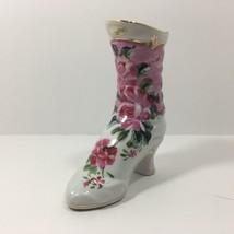 Formalities by Baum Bros. Porcelain Boot Figurine, Floral Design (18 Cen... - $14.44