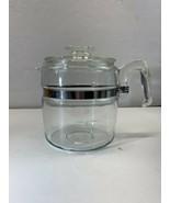 vintage pyrex glass coffee pot 7758 * no guts * - $23.33