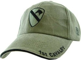 US ARMY 1ST CAVALRY - Officially Licensed ODG Military Hat Baseball Cap - $25.95