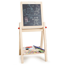Double Sides Drawing Board Standing Toy Easel Chalkboard Blackboard,Adju... - $52.90