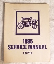 1985 Fisher Body Service Manual C Style OEM (1983) Olds, Buick, Cadillac - $11.64