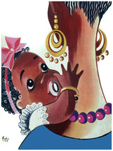 581.Motherly scene Wall Art Decoration POSTER.Graphics to decorate home ... - $10.89+
