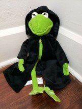 """Disney Store Muppets 17"""" Dark Kermit The Frog Most Wanted Constantine Plush - $19.34"""