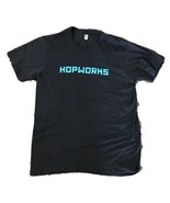 Hopworks Brewery Abominable Winter Ale T-Shirt Men's Size Large - $14.84