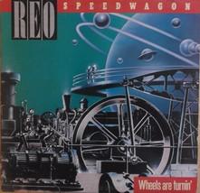 REO Speedwagon Wheels Are Turnin' 1984 Vinyl LP Epic Records QE 39593 - $14.76
