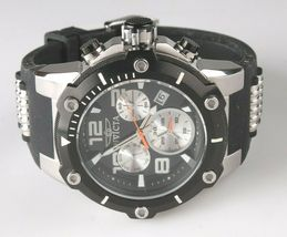 Invicta Men's Speedway 22235 Black & Stainless Steel Chronograph Watch NWOT image 4
