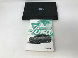 2017 Ford Focus Owners Manual Handbook Set with Case OEM Z0A1585 - $39.59