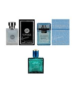 Versace Mens EDT Miniatures 0.17oz Set of 3, Pour Homme, Man Eau Fraiche... - $22.53