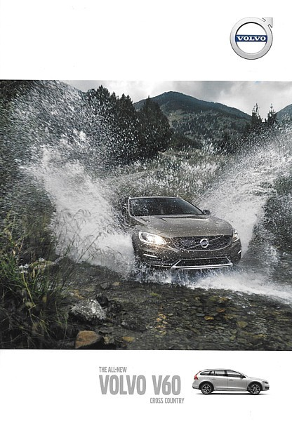 2015.5-2 Volvo V60 CROSS COUNTRY sales brochure catalog folder US T5 AWD XC