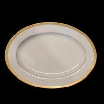 "Vintage Regency GOLD PATTERN 12"" Oval Platter Fine China Japan - $15.35"